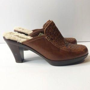 ugg | gabriella sherling heeled mule